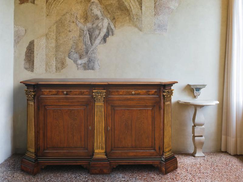 Credenza Con Cassetti E Ante : Rudiana interiors italian charming furniture